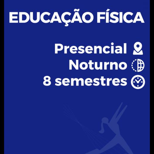 EDUCAÇÃO FÍSICA – LICENCIATURA