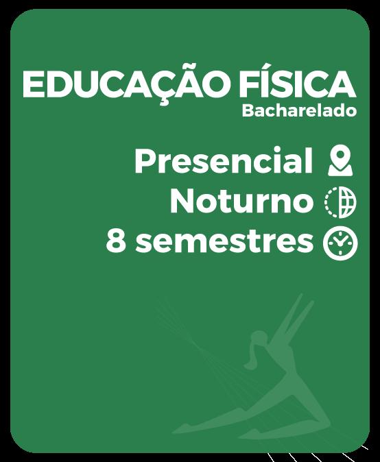 EDUCAÇÃO FÍSICA – BACHARELADO