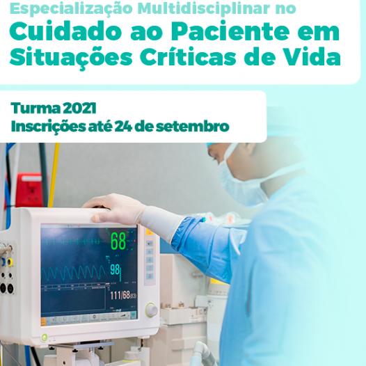 Especialização Multidisciplinar no Cuidado ao Paciente em Situações Críticas de Vida – 2 Edição