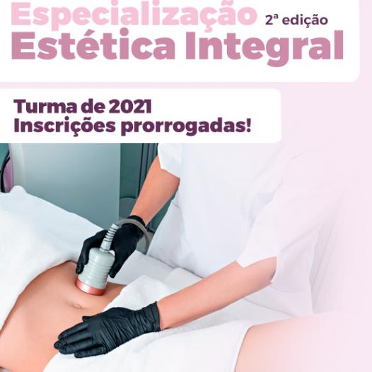 Especialização em Estética Integral – 2ª Edição