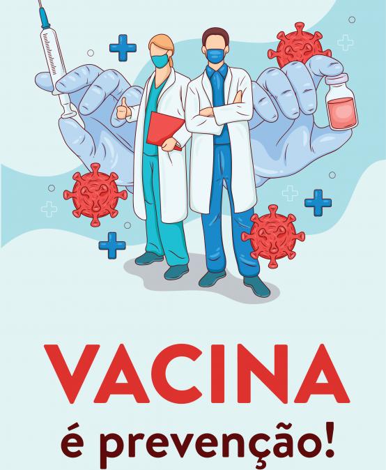Vacina é prevenção