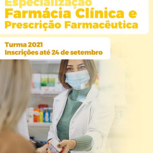 Especialização em Farmácia Clínica e Prescrição Farmacêutica