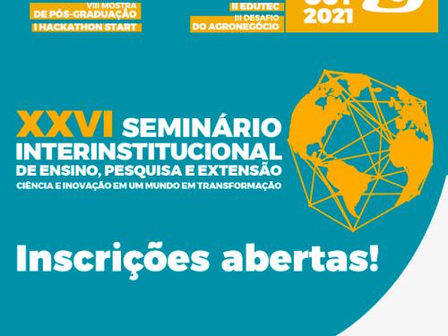 XXVI Seminário Interinstitucional